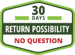 30 days free return without questions