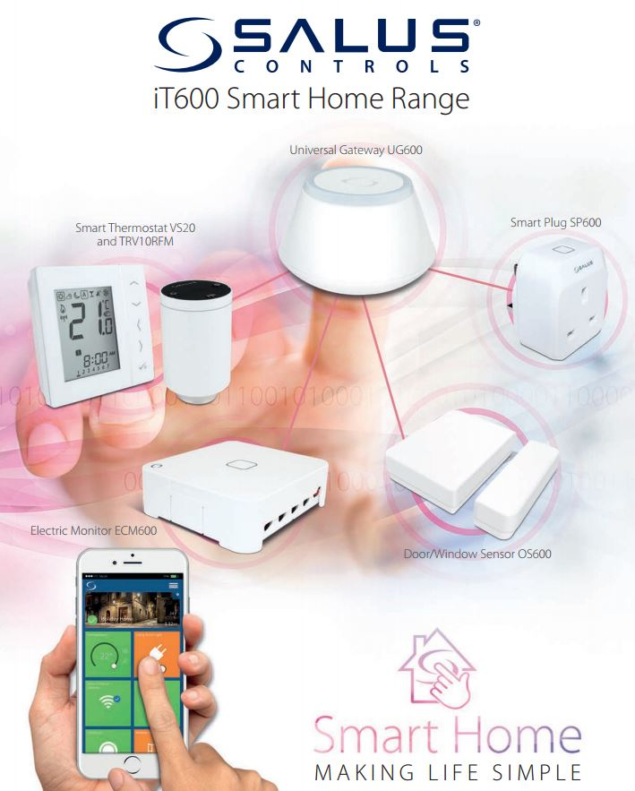 salus it 600 susthma smart house